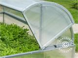 Mini greenhouse Cold Frame LOTOS 1.87 m², 0.89x2.10x0.80 m, Silver - 2
