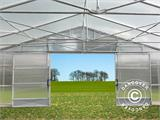 Commercial greenhouse tunnel, 10x16x3.95 m, Transparent - 1