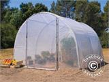 Polytunnel Greenhouse 3x4.5x2 m, 13.5 m², Transparent - 1