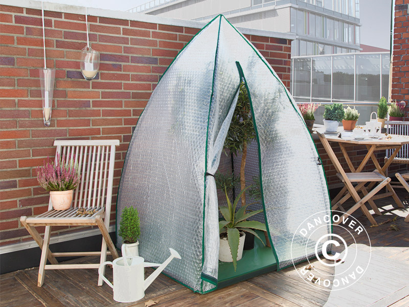 Winter Protection Plant Tent Igloo 1.2x1.2x1.8 m & Winter Protection Plant Tent Igloo 1.2x1.2x1.8 m - Dancovershop UK