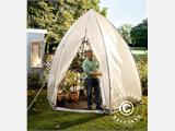 Winter Protection Plant Tent, Tropical Island XL, Ø3.4x2.8 m - 2