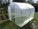 Polytunnel Greenhouse SEMI PRO 2x3.75x2 m - 1
