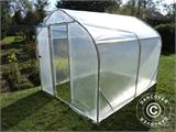 Serre Tunnel SEMI PRO 2x5x2m, Transparent - 1