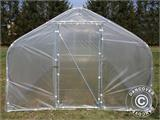 Polytunnel Greenhouse SEMI PRO 3x6.25x2.15 m, Transparent - 1
