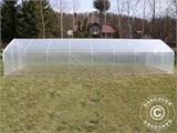Polytunnel Greenhouse SEMI PRO 4x6.25x2.40 m - 1