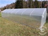Polytunnel Greenhouse SEMI PRO 4x6.25x2.40 m - 2