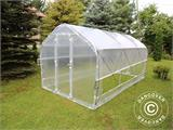 Polytunnel Greenhouse SEMI PRO Plus 2x3.75x2 m, Transparent - 1