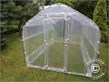 Polytunnel Greenhouse SEMI PRO Plus 2x3.75x2 m, Transparent - 2