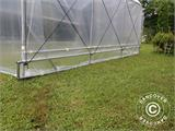 Polytunnel Greenhouse SEMI PRO Plus 2x3.75x2 m, Transparent - 6
