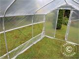 Polytunnel Greenhouse SEMI PRO Plus 2x7.5x2 m - 4