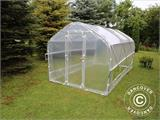 Polytunnel Greenhouse SEMI PRO Plus 2x7.5x2 m - 6