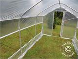 Polytunnel Greenhouse SEMI PRO Plus 3x8.75x2.15 m - 3