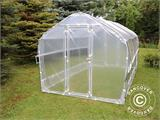 Polytunnel Greenhouse SEMI PRO Plus 4x6.25x2.40 m - 1
