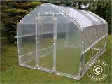 Polytunnel Greenhouse SEMI PRO Plus 4x6.25x2.40 m - 2