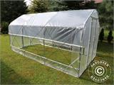 Polytunnel Greenhouse SEMI PRO Plus 4x6.25x2.40 m - 3