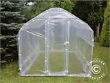 Polytunnel Drivhus SEMI PRO Plus 4x10x2,40m, Transparent - 1