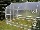 Polytunnel Drivhus SEMI PRO Plus 4x10x2,40m, Transparent - 3
