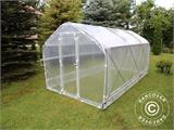 Polytunnel Greenhouse SEMI PRO Plus 4x15x2.40 m - 1