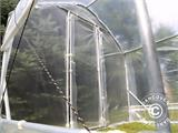 Polytunnel Greenhouse SEMI PRO Plus 4x15x2.40 m - 4