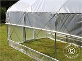 Polytunnel Greenhouse SEMI PRO Plus 4x15x2.40 m - 5