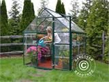 Greenhouse polycarbonate Harmony 4.5m², 1.85x2.47x2.08 m Green - 1