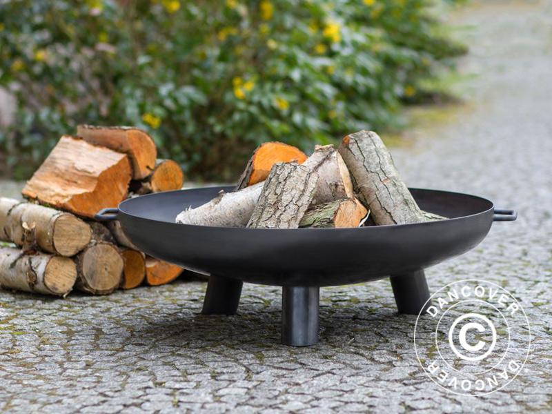 vasque feu avec un trou 80x24cm noir dancovershop fr. Black Bedroom Furniture Sets. Home Design Ideas