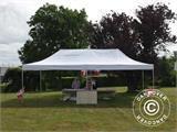 Vouwtent/Easy up tent FleXtents PRO 4x8m Wit, inkl. 6 Zijwanden - 21