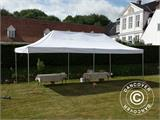 Vouwtent/Easy up tent FleXtents PRO 4x8m Wit, inkl. 6 Zijwanden - 24