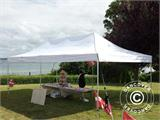 Pop up gazebo FleXtents Xtreme 4x6 m White, incl. 8 sidewalls - 25