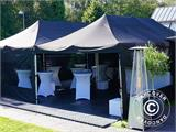 Pop up gazebo FleXtents Xtreme 4x4 m Black, Flame retardant - 2