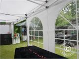 Pop up gazebo FleXtents PRO Vintage Style 4x6 m White, incl. 8 sidewalls - 2
