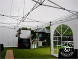 Pop up gazebo FleXtents PRO Vintage Style 4x6 m White, incl. 8 sidewalls - 10