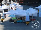 "Pop up gazebo FleXtents PRO ""Morocco"" 3x3 m White, incl. 4 sidewalls - 32"
