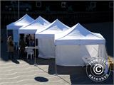 "Pop up gazebo FleXtents PRO ""Morocco"" 3x3 m White, incl. 4 sidewalls - 34"