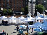 "Pop up gazebo FleXtents PRO ""Morocco"" 3x3 m White, incl. 4 sidewalls - 35"