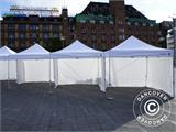Vouwtent/Easy up tent FleXtents PRO Trapezo 3x6m Wit, inkl. 4 Zijwanden - 57