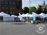 Pop up gazebo FleXtents Xtreme 4x6 m White, incl. 8 sidewalls - 97