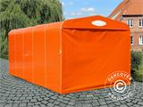 Garage pliant tunnel (Voiture), 2,5x5,15x2,15m, gris - 1