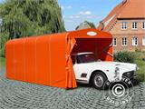 Garage pliant tunnel (Voiture), 2,5x5,15x2,15m, gris - 2