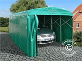Garage pliant tunnel (Voiture), 2,5x5,15x2,15m, gris - 4