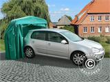 Garage pliant tunnel (Voiture), 2,5x5,15x2,15m, gris - 5