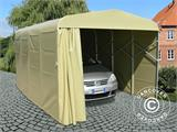 Garage pliant tunnel (Voiture), 2,5x5,15x2,15m, gris - 6