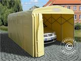 Garage pliant tunnel (Voiture), 2,5x5,15x2,15m, gris - 8