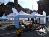 Pop up gazebo FleXtents PRO with full digital print, 3x3 m - 7