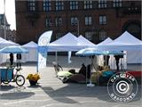 Pop up gazebo FleXtents PRO with full digital print, 3x3 m - 15