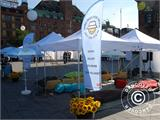 Pop up gazebo FleXtents PRO with full digital print, 3x3 m - 34