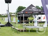 Vouwtent/Easy up tent FleXtents Xtreme 50 Racing 3x6m, Limited edition - 1