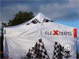 Vouwtent/Easy up tent FleXtents Xtreme 50 Racing 3x6m, Limited edition - 17