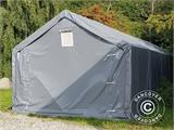 Storage shelter PRO 5x8x2x3.39 m, PVC, Green - 29