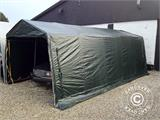 Storage tent PRO 2.4x2.4x2 m PE, with ground cover, Grey - 6